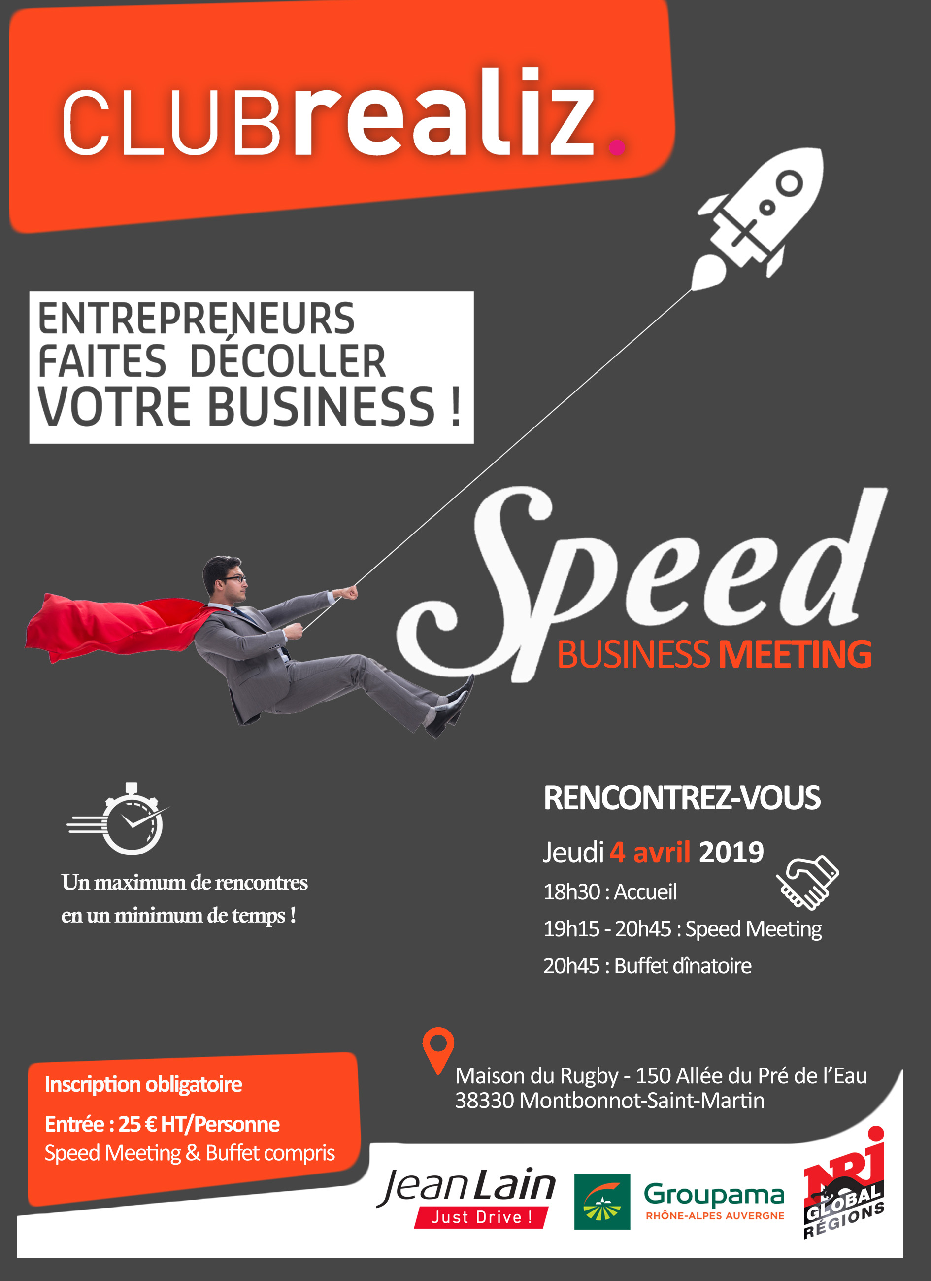 Participez au Speed Business Meeting !
